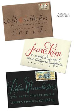 Plurabelle Calligraphy...simply divine. Calligrapher and designer living in Los Angeles, California.