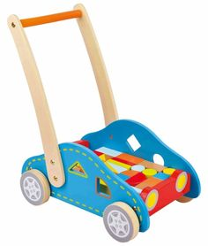 This clever walker and sorter with blocks lets you take your imagination on the road as you build from here to anywhere.