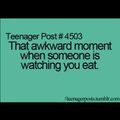 Makes u think if u eat weird