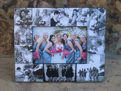 Custom Collage Maid of Honor Picture Frame