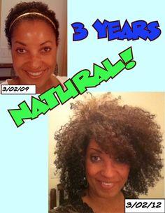 Happy 3rd Birthday Natural Hair! http://bit.ly/HqvJnA