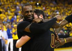 Raw emotion.  LeBron James' Cleveland Cavaliers beat Golden State Warriors for NBA title