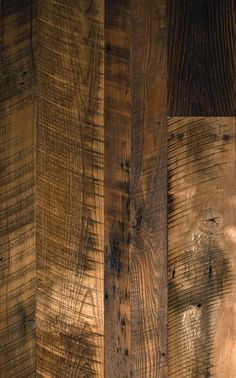 Reclaimed antique hardwood flooring crafted from salvaged barn wood. Mountain Lumber's reclaimed distressed hardwood floors feature original saw marks and nail holes. Distressed Hardwood Floors, Rustic Wood Floors, Barn Wood, Plank Flooring, Stone Flooring, Laminate Flooring, Barn Renovation, Cottage Renovation, Cottage Floor Plans