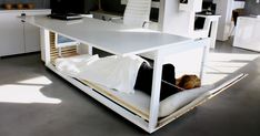Nap Desk That Converts Into Bed And Lets You Sleep At Work | Bored Panda