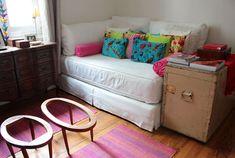 Cama-sofá para pisos de una habitación y estudios. Casa Chaucha