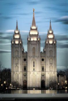 ✯ Twightlight Temple - Utah