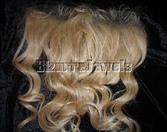 Remi Remy Full Lace Frontal Partial Wig Indian Human Hair Blonde Body Wave Wavy #Unbranded #PARTIALWIGHAIRADDITION