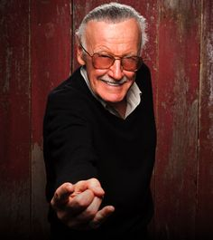 Stan freaking Lee, everybody. This dude is amazing. He is 91 years old (his birthday is today-- happy birthday!) and still cameos in every single Marvel movie. He created the comics that spurred on such movies, and is listed as an executive producer for every single one. Thanks, Stan.