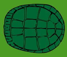 TMNT: Back Shell fabric by implexity on Spoonflower - custom fabric