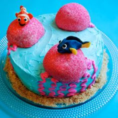 The best cakes are always a bit squishy. Make this Finding Nemo cake and it shall be yours. It shall be your squishy.