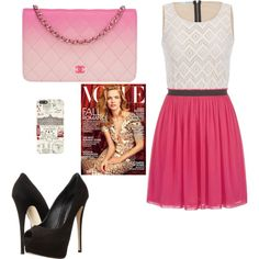 un dia cundo sales con tus amigas by miniafrica on Polyvore featuring polyvore fashion style maurices Giuseppe Zanotti Chanel Harrods