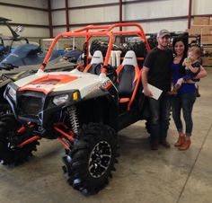 Thanks to the McAllister family from Holden MS for getting a 2013 Polaris RZR S 800 at Hattiesburg Cycles
