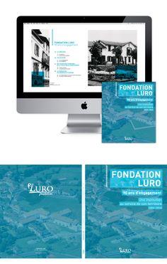 > Fondation LURO - Livre anniversaire