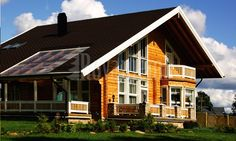 Log House from Finland: Model Scandinavia