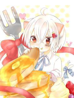 C Anime, Kawaii Anime, Anime Guys, Anime Art, Anime Child, Beautiful Anime Girl, Cute Chibi, Kawaii Girl, Neko