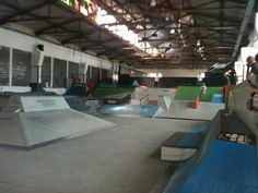 Skate Park, Cool Stuff, Google Search, Warehouse, Interior, Parks, Outdoor, Outdoors, Indoor