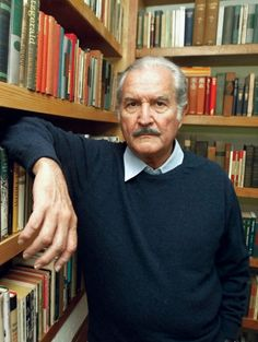 "Carlos Fuentes (1928 - 2012) Mexican author, ""The Death of Artemio Cruz"", ""The Old Gringo"""