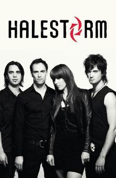 Halestorm - SO excited to see them next month with my favorite red head. :D