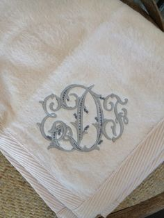Ha my daughters monogram, too! Monogram by Number Four Eleven