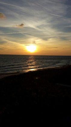 Solnedgang, Pedersker