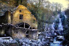 Old Water Mill Jesmond Dene, Newcastle-upon-Tyne, England