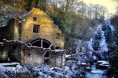 Old Water Mill Jesmond Dene, Newcastle-upon-Tyne, England