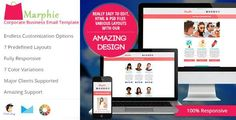 180 Absolute Best Responsive Email Templates - Marphie - Business Responsive Email Template