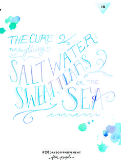 20 Days Of Movement, Day 18: Salt Water | Free People Blog #freepeople