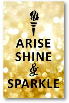 If you desire to make a difference in the world, you must be different from the world.UM and who doesn't want to Sparkle..... LOL