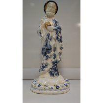 Artesanato Sagrado Coração De Jesus 30 Cm - Maria Moura
