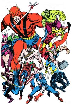 Silver and Bronze Age Subjects: They Made The Avengers: John Buscema