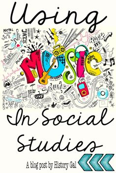 See how you can use music to help your middle school or high school students learn various social studies lessons. Content mixed or linked with music makes an excellent teaching strategy. Here are a few current music pieces to use in lessons. Music can also be used to signal transitions or certain tasks. Click through to get more ideas of how music can help your students retain and recall required information.