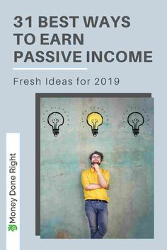 31 Best Ways to Earn Passive Income - Fresh Ideas for Check out this list! We have everything from dividend-paying stocks & peer-to-peer lending to creating your own cash-flowing assets! These passive ways to earn money will blow your mind! Ways To Earn Money, Earn Money From Home, Earn Money Online, Money Saving Tips, Way To Make Money, Online Income, Money Tips, Peer To Peer Lending, Making Extra Cash