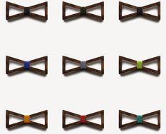 これはアリでしょ。木製の蝶ネクタイ『BÖ Wooden Bow Ties』 | IDEA HACK