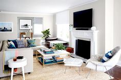 16 Clever Ways to Use Furniture for Living Room Storage