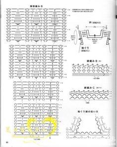 Maravilhas do Crochê: Túnicas de Crochê_Japonês