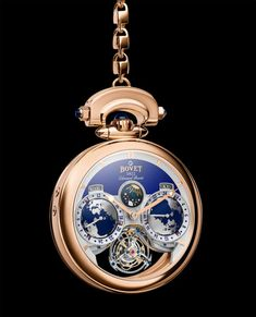 The Bovet Edouard Bovet Tourbillon comes with an added gold pocketwatch chain for those travelers who wish to channel the true spirit of Edouard Bovet's 19th-century horological voyage. #bovet #bovetwatches #watchtime #SIHH2018 #luxurywatch
