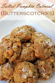 Pumpkin butterscotch cookies - use Hershey's brand butterscotch to make GF