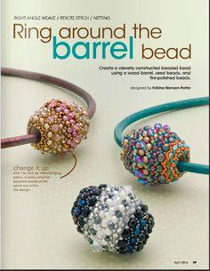 Бисерные шарики, фуллерн с бусинами и бисером. Схема