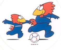 France 98 - Footix - Football Nostalgia