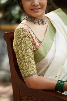 8ba810281ee2f 18 Cotton Saree Blouse Designs for a Stylish Look!
