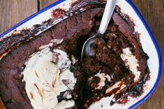 Love coffee? Try this Boozy Espresso Chocolate Pudding recipe by the Cake Hunter