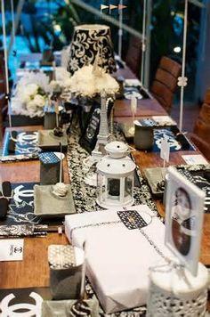 ... Party via Kara's Party Ideas Kara'sPartyIdeas.com #Chanel #party #