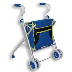 Caminador de Aluminio 4 ruedas delanteras    Andadores para Adultos ORTOPEDIA