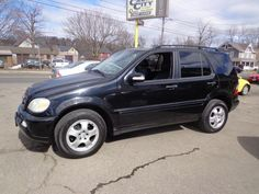 Check out this 2002 Mercedes-Benz ML320 AWD. Guaranteed Credit Approval or the vehicle is free!!! Call us: (203) 730-9296 for an EZ Approval.$7,995.00.