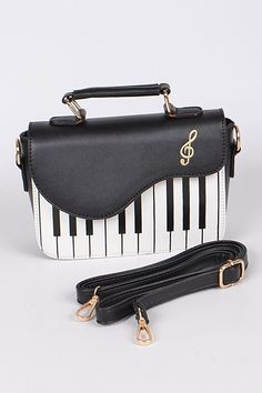 Faux leather piano clutch messenger bag with adjustable shoulder strap included Dimension: * W * H * D Fashion Handbags, Fashion Bags, Home Music, Novelty Bags, Disney Inspired Fashion, Vintage Princess, Music Decor, Music Images, Music Gifts