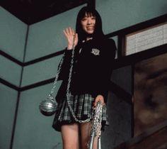 Chiaki Kuriyama as Go-Go Yubari in Kill Bill, Part 1