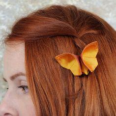 amazing fabric butterflies by SewSmashing