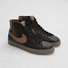 b0a0c63ca Nike SB Blazer Premium SE (Black Cocoa-Clay) Adidas Shoes Outlet