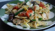 Hot or Cold Niçoise-Style Tuna Pasta